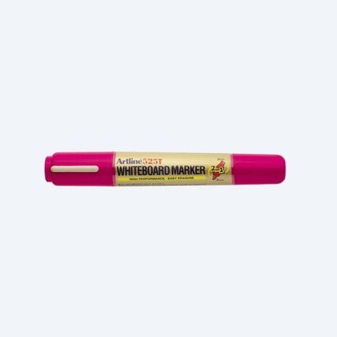 Artline 525T Whiteboard Marker Dual Nib Pink Pen