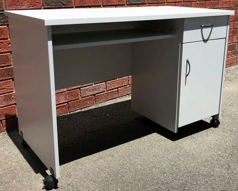 Ascot Computer Desk Dr + Door L1200*D600mm L2