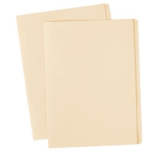 MANILLA Foolscap Folders Buff,  Box100