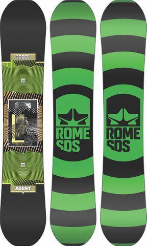 ROME 2021 Agent Snowboard