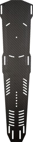 RADAR CARBON G10 SEQUENCE UNIVERSAL SLALOM SKI BOOT PLATE