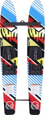 HO 2020 Hot Shot Trainer Combo Skis with Bar & Rope