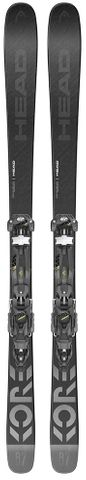 HEAD 2021 Kore 87 W/Aaatack 11 Gw Snow Skis
