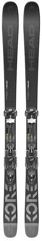 HEAD 2022 Kore 87 W/Aaatack 11 Gw Snow Skis