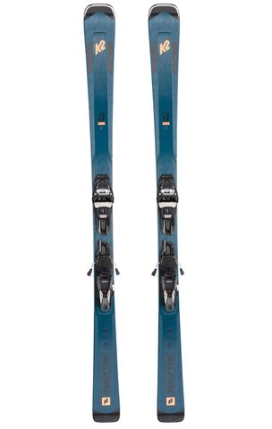 K2 2022 Disruption 78C Alliance W/Er3 10 Ladies Snow Ski