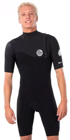 RIP CURL 2022 E Bomb Zip Free 22Gb Short Sleeve Spring Suit