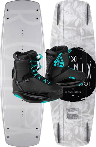 RONIX 2021 Signature Wakeboard with Signature Boots