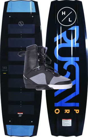 HYPERLITE 2020 Rusty Pro Wakeboard with Team X Boots