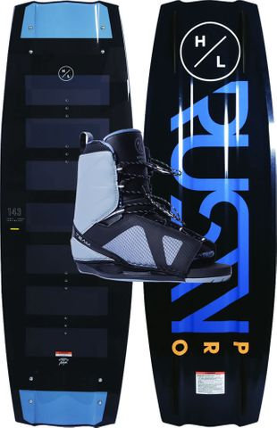 HYPERLITE 2020 Rusty Pro Wakeboard with Team OT Boots