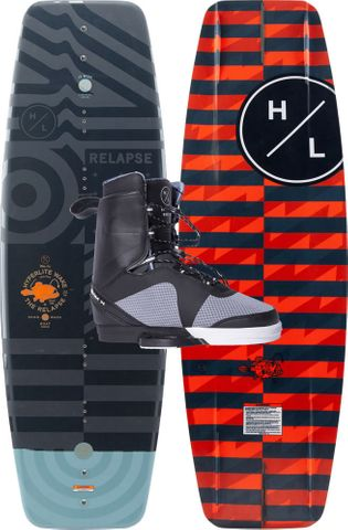HYPERLITE 2020 Relapse Wakeboard with Team X Boots