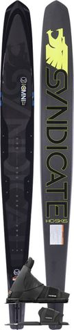 HO 2021 Syndicate Omni Slalom Ski with Animal Boot & RTP
