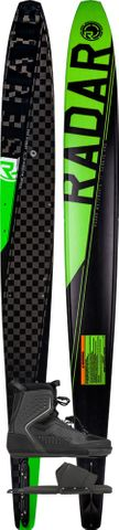 RADAR 2020 Senate Pro Build Slalom Ski with Pulse Boot & RTP (Alum)