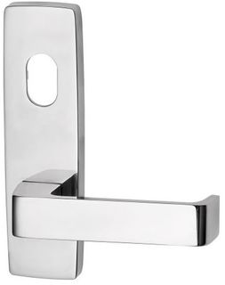 1801 SQUARE END PLATE WITH CYL HOLE & 90