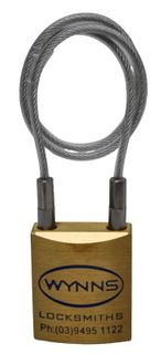 WYNNS 45MM P/LOCK 250MM CABLE