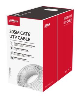 DAHUA CAT-6 CABLE ON REEL 305 METERS