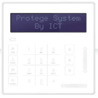 ELITESUIT TOUCH SENSE LCD KEYPAD (WHITE)