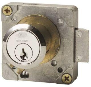 """LOCKWOOD 692 4 PIN CUPBOARD LOCK """"A"""" CON"""