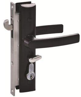 8654 HINGE SECURITY DOOR LOCKSET NO CYL