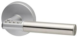 CODE HANDLE SATIN STAINLESS/SATIN PEARL