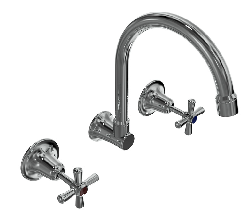 Wall or Laundry Sink Set