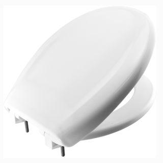Heavy Duty White Toilet Seat
