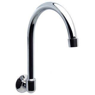 Wall Spout Curved Swivel