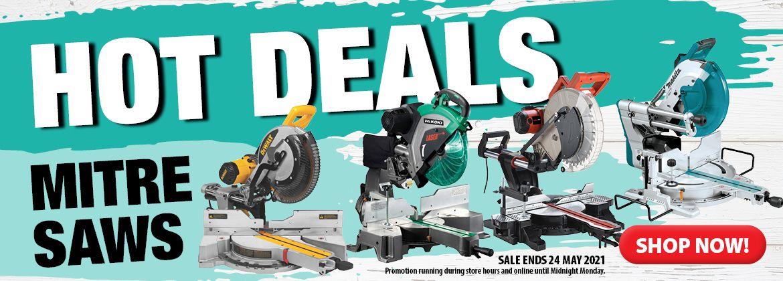 Hot Deals - Mitre Saws