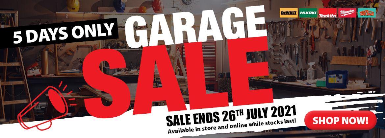 ToolShed Garage Sale