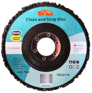 Clean and Strip Discs