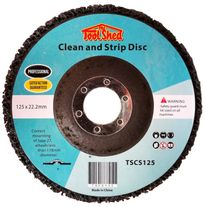 ToolShed Clean and Strip Disc 125mm