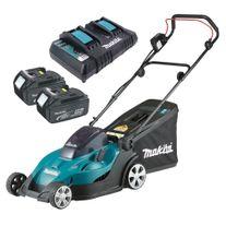 Makita Cordless Lawn Mower 36v (2x18V) 5Ah