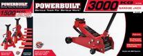Powerbuilt Garage Jack & Axle Stand Combo 3000kg/1500kg