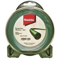 Makita Line Trimmer Line 1.6mm x 15m Round Trim