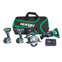 HiKOKI MultiVolt Cordless Combo Kit Brushless A2 4pce 36v