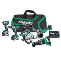 HiKOKI MultiVolt Cordless Combo Kit Brushless A3 5pce 36v