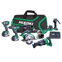 HiKOKI MultiVolt Cordless Combo Kit Brushless A4 6pce 36v