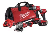 Milwaukee M18 FUEL Cordless Brushless 3pc Kit 3A2 18v 5Ah