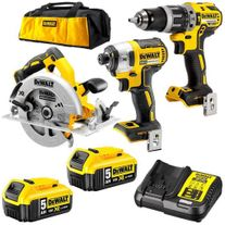 DeWalt Cordless Circular Saw Combo Kit Brushless 3pc 18v 5Ah