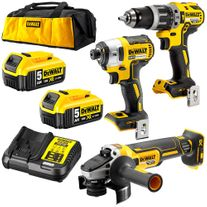 DeWalt Cordless Angle Grinder Combo Kit Brushless 3pc 18v 5Ah