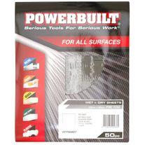 Powerbuilt Wet/Dry Sanding Sheets