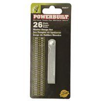 Powerbuilt Feeler Gauge 26 Blade Master