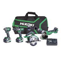 HiKOKI MultiVolt Cordless Combo Kit Brushless A1 4pce 36v
