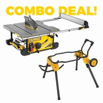 DeWalt Heavy Duty Table Saw and Stand Combo
