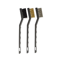 Tradeflame Mini Wire Brush Set 3pc