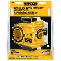 DeWalt Door Lock Installation Kit