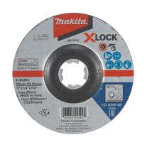 Makita Metal Grinding Disc X-LOCK 125 x 6 x 22.2mm