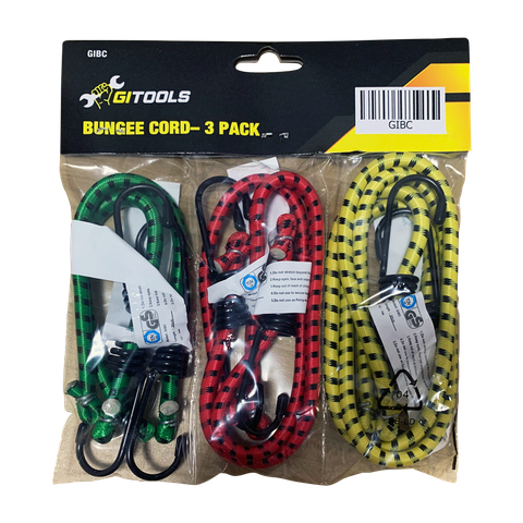 GI TOOLS Bungee Cord Set 6 pce