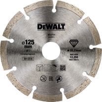 DeWalt Diamond Blade 125mm Segmented Rim