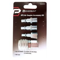 Powerbuilt ARO Air Coupler Set 4pce