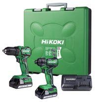 HiKOKI Cordless Drill and Impact Driver Compact 18v 1.5Ah
